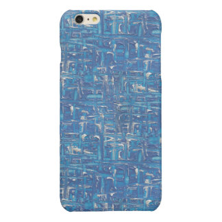Iphone Case - Blue Abstract Painting iPhone 6 Plus Case