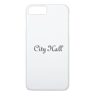 iPhone case , case city hall