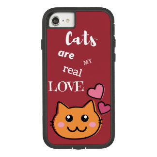 iPhone Case Cat Love