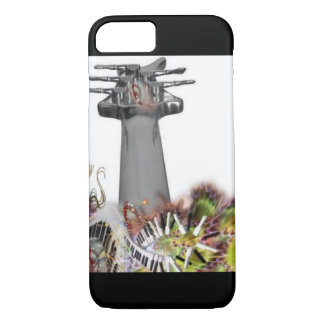 Iphone Case - Chrome Guitar & Piano Keys
