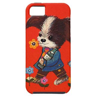 iPhone case doggie vintage