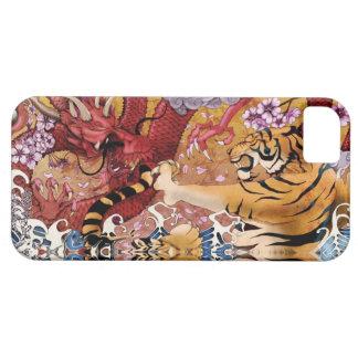 iPhone Case - Dragon vs Tiger