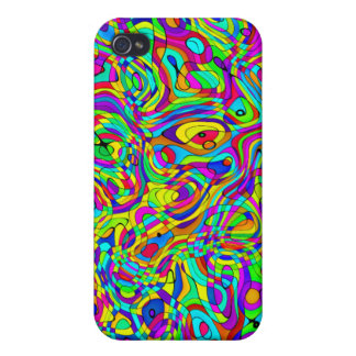 iPhone Case Funky Cool Pattern Colourful iPhone 4/4S Case