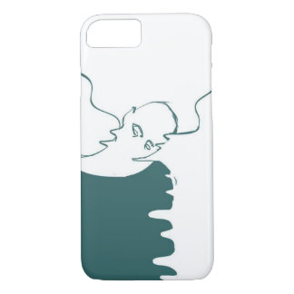 iPhone case ghost drawing