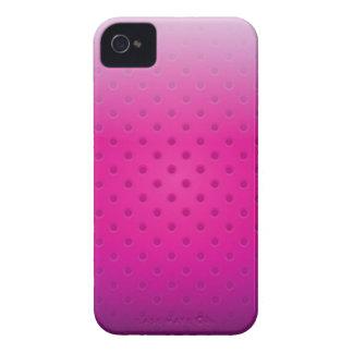 iPhone Case glossy metal grid