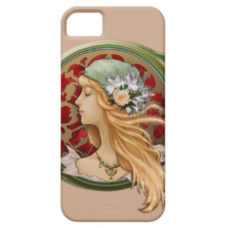 iPhone case, iphone 5 case, ipone cover, Girl. Barely There iPhone 5 Case