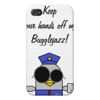 IPhone case-  Keep your hands off my bugglejazz Cover For iPhone 4