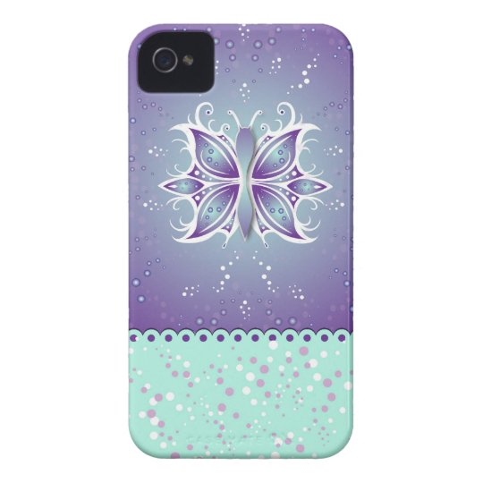iPhone Case-Mate Butterfly Abstract iPhone 4 Cover