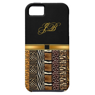 iPhone Case-Mate Case Gold Black
