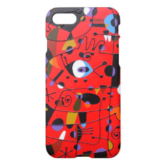 iPhone case, painting in Miro Style, Frank le Pair iPhone 7 Case