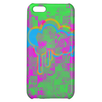 Iphone Case Punk Checker Cover For iPhone 5C