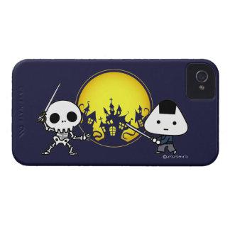 iPhone Case - RiceBall Samurai VS Skeleton Case-Mate iPhone 4 Cases