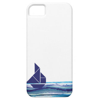 Iphone case sail boat blue 1 iPhone 5 cover