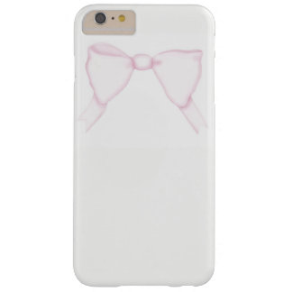iPhone Case Simple Pink Bow Girly Feminine