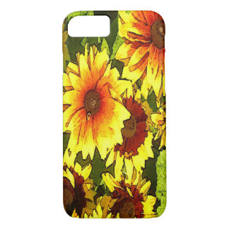 iphone case--Sunflowers iPhone 7 Case