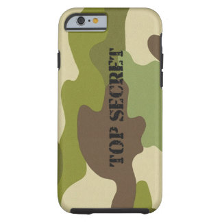 iPhone Case top secret camouflage military