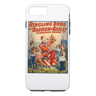 iphone case with a Vintage Circus Poster