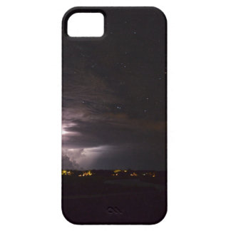 IPhone case with an image of the Night Sky.