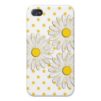 iphone case with daisies iPhone 4 cover