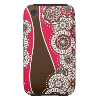 iPhone case  with decorative seamless background iPhone 3 Tough Case