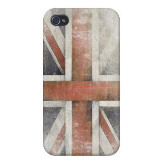 iPhone Case with Dirty Flag from United Kingdom iPhone 4/4S Covers