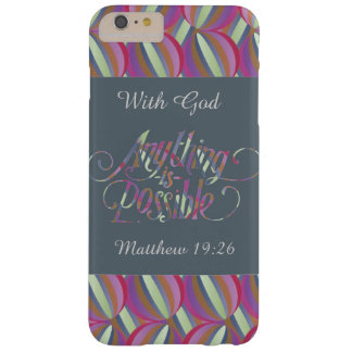 iphone case With God All Things are Possible.