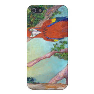 iPhone Case with Macaw Design for 4/4S Covers For iPhone 5
