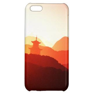 iPhone case wonderful purple oriental sunset Case For iPhone 5C