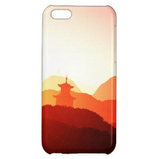 iPhone case wonderful purple oriental sunset iPhone 5C Cover