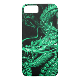 iPhone Chinese Emerald Emperor Dragon Art Case