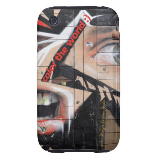 Iphone cover color the world iPhone 3 tough cases