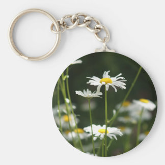 iPhone Daisy Days Basic Round Button Key Ring