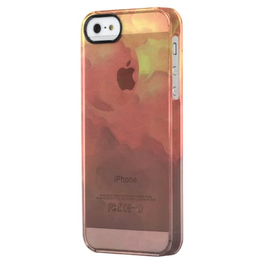 Iphone Dream Clound marries Clear iPhone SE/5/5s Case