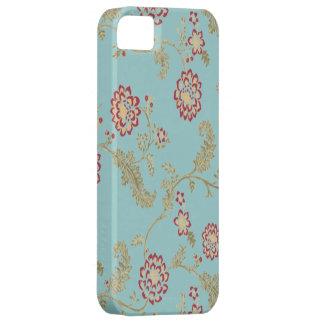 Iphone floral vintage de motif 4 cas barely there iPhone 5 case