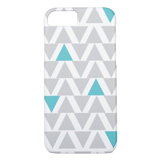 Iphone Graphic Aqua & Grey iPhone 8/7 Case