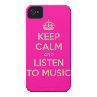 Iphone hoesje with keep calm text iPhone 4 Case-Mate case