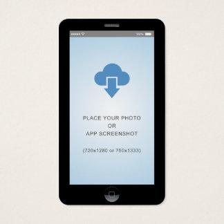 iPhone iOS Style App Screenshot Photo