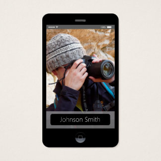 iPhone iOS Style - Personal Photo Profile