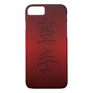 iPhone / iPad case: Karate 空手 (Chinese Kanji) iPhone 8/7 Case