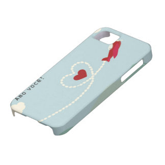 Iphone layer IF, 5 and 5S Amo You Case For The iPhone 5