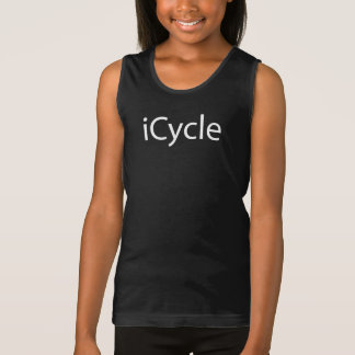 Iphone Parody Cool Funny Cycling Icycle Tank Top