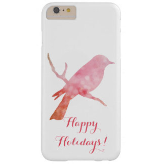 Iphone, phone Cover with pink bird design.