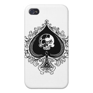 IPhone - Poker Case Ace of Spades iPhone 4 Cover