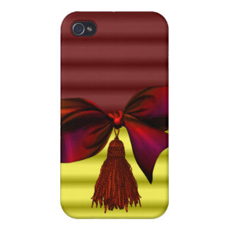 iphone pop art design with bow iPhone 4 case