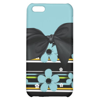 iphone pop art design with bow iPhone 5C case