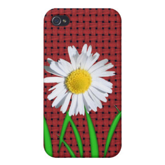 iphone pop art design with flowers iPhone 4 case