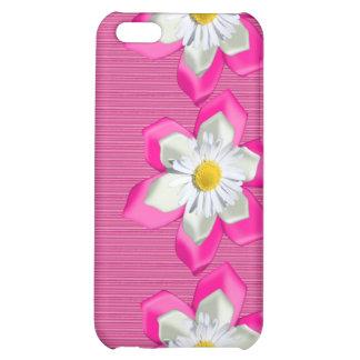 iphone pop art design with flowers iPhone 5C cases
