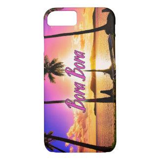 iPhone/Samsung Case: Sunset Bora Bora iPhone 7 Case