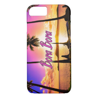 iPhone/Samsung Case: Sunset Bora Bora iPhone 8/7 Case