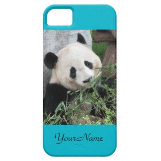 iPhone SE, 5 / 5s Case Giant Panda Scuba Blue